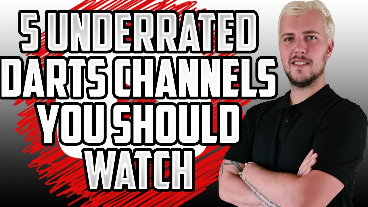 5 UNDERRATED Darts YouTube Channels You Should Start Watching!