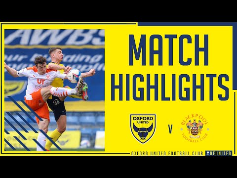Oxford Utd Blackpool Goals And Highlights