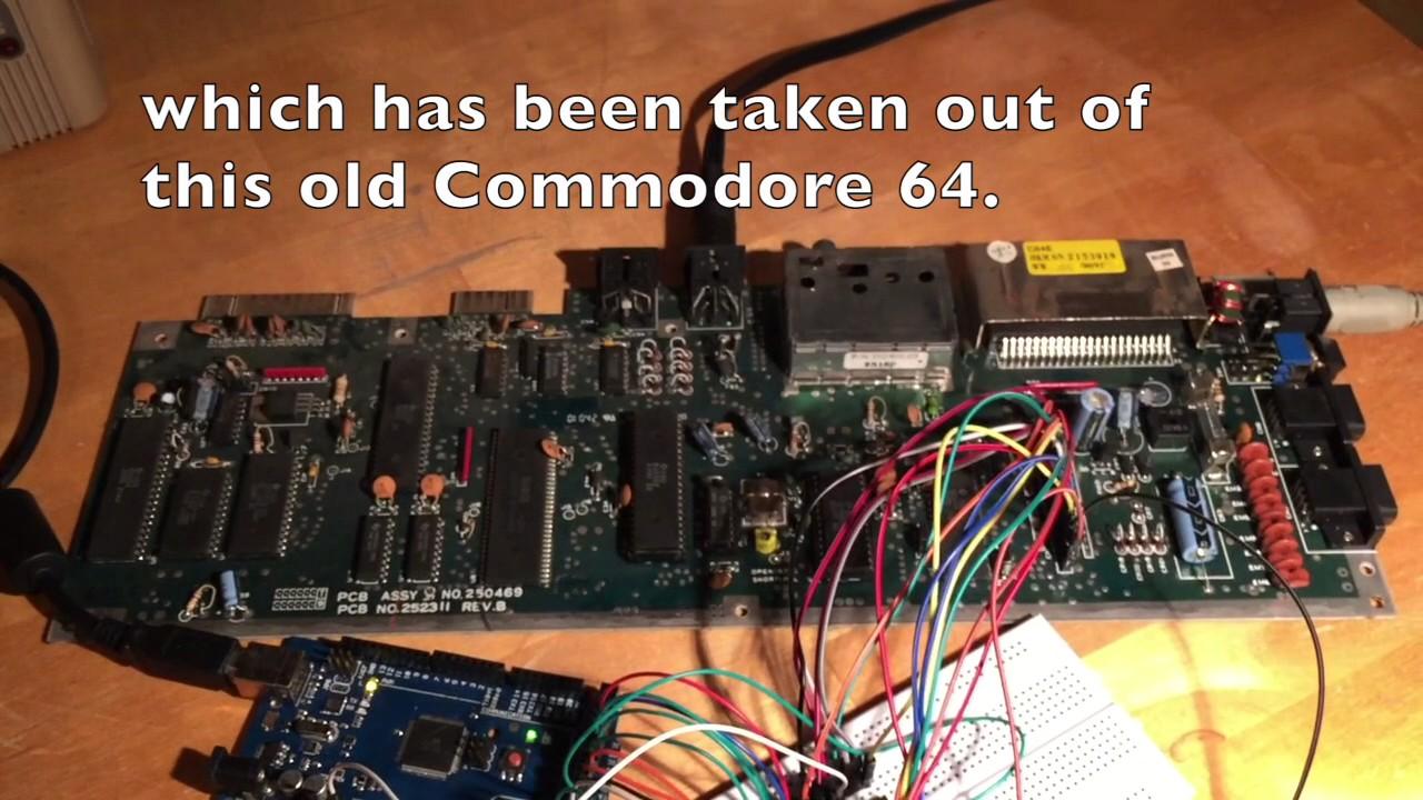 Commodore 64 Keyboard Emulation