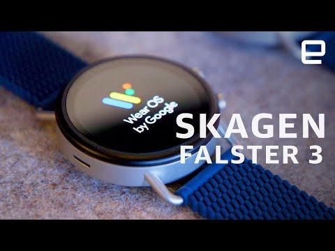 Fossil Skagen Falster 3 Hands-on At CES 2020