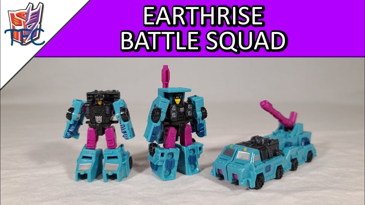 TF Collector Earthrise Battle Squad Review!