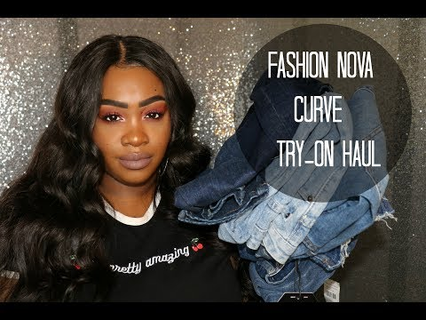 Fashion Nova Curve Try On Haul | Jeans &...