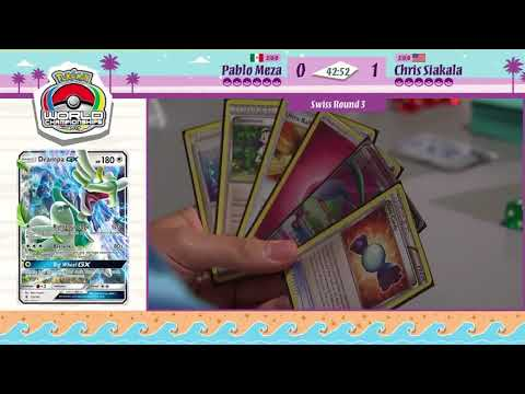 TCG DAY 2 PABLO MESA VS CHRIS SIAKALA SWISS R3 POKEMON WORLD CHAMPIONSHIPS