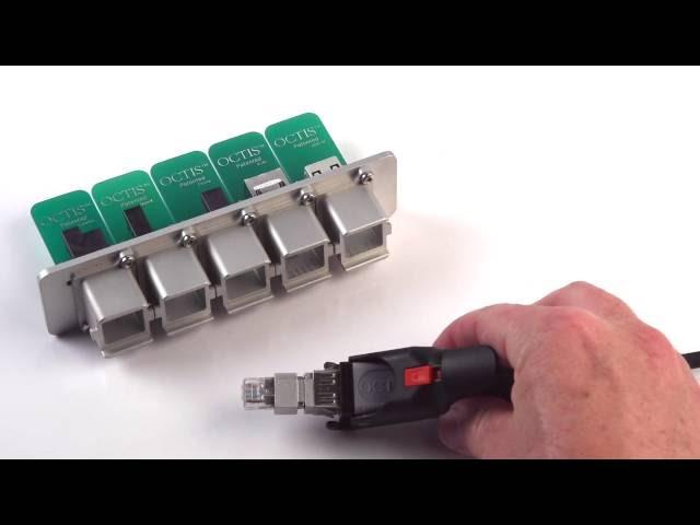 Assemble OCTIS™ RJ45 | Radiall