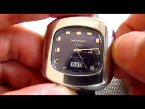 Movado HS 360 Kingmatic Video Automatic Watch