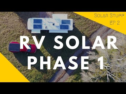 Powering An RV With Solar Energy & A Tesla Battery (Videos