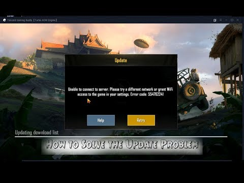 How To Fix Tecent Gaming Buddy PUBG Network Error 100% All Methods