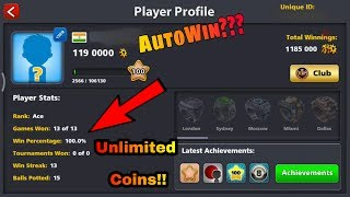 8 Ball Pool Hack/Autowin??? Updated 3.10.1 Unlimited Coins+Guideline Tricks 2017