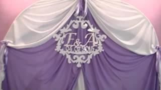 """Оформление свадеб тканями и цветами свадьбы """"ФМС"""" г.Королев"""