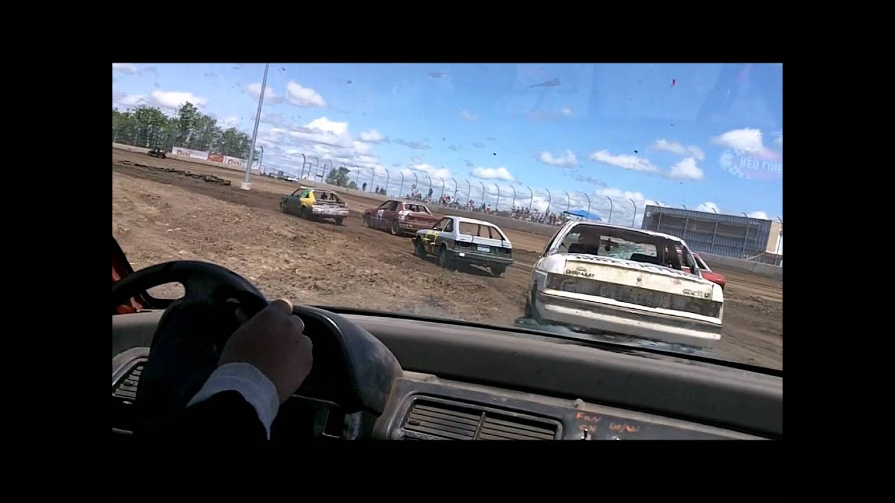 WILLAMETTE SPEEDWAY FATHERS DAY TRASH CARS HEAT 1 STOCK\'S #04 6-17 ...
