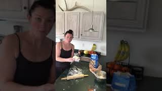 Weight Watchers Freestyle pizza 2 ingredient dough