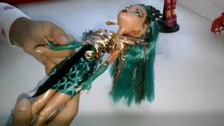 Вторая кукла монстер хай нефера де нил из коллекций буёрк буёрк