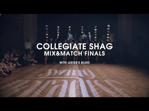 Swing Paradise 2018 - Collegiate Shag Mix&Match Finals with Lester's Blues