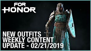 For Honor: New Outfits | Week 02/21/2019 | Weekly Content Update | Ubisoft [NA]