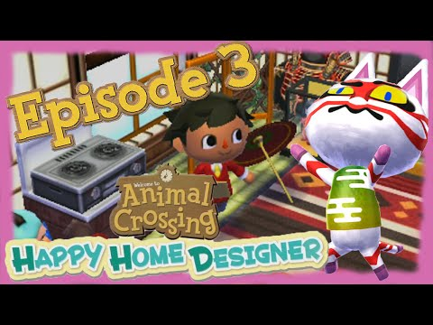 ABM: Animal Crossing Happy Home Designer Gameplay (Episode 3)
