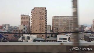 九州新幹線 博多駅 車窓