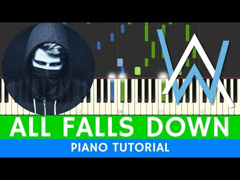 Alan Walker  All Falls Down  PIANO BEST VERSION
