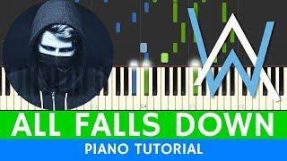 Alan Walker - All Falls Down - PIANO (BEST VERSION)
