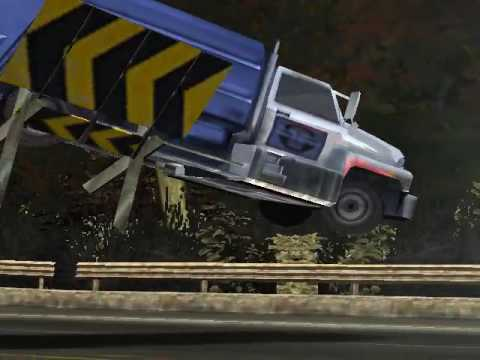 NFSMW Trash Truck Vs RAZOR!