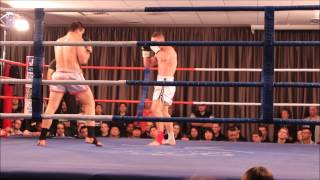 Australian Kickboxing muay thai title fight Knockout KO