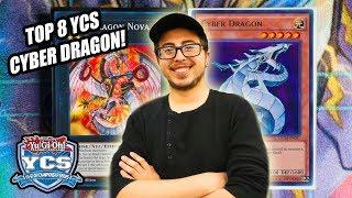 Yu-Gi-Oh! Top 8 YCS Pasadena Cyber Dragon Deck Profile 2018! Ft.Brian Ramirez!