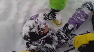 """Ski-Stock und Freunde retten Australier aus Schnee-Grab: """"Ich hatte wenig Luft da unten."""""""