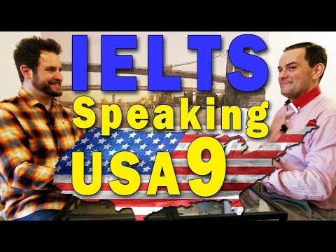 IELTS Speaking American English Band 9 Subs FULL