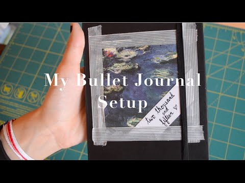 My Unique Bullet Journal Setup | krutsicklass