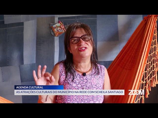 19-03-2020 - AGENDA CULTURAL NA REDE COM SCHEILA SANTIAGO - ZOOM TV JORNAL