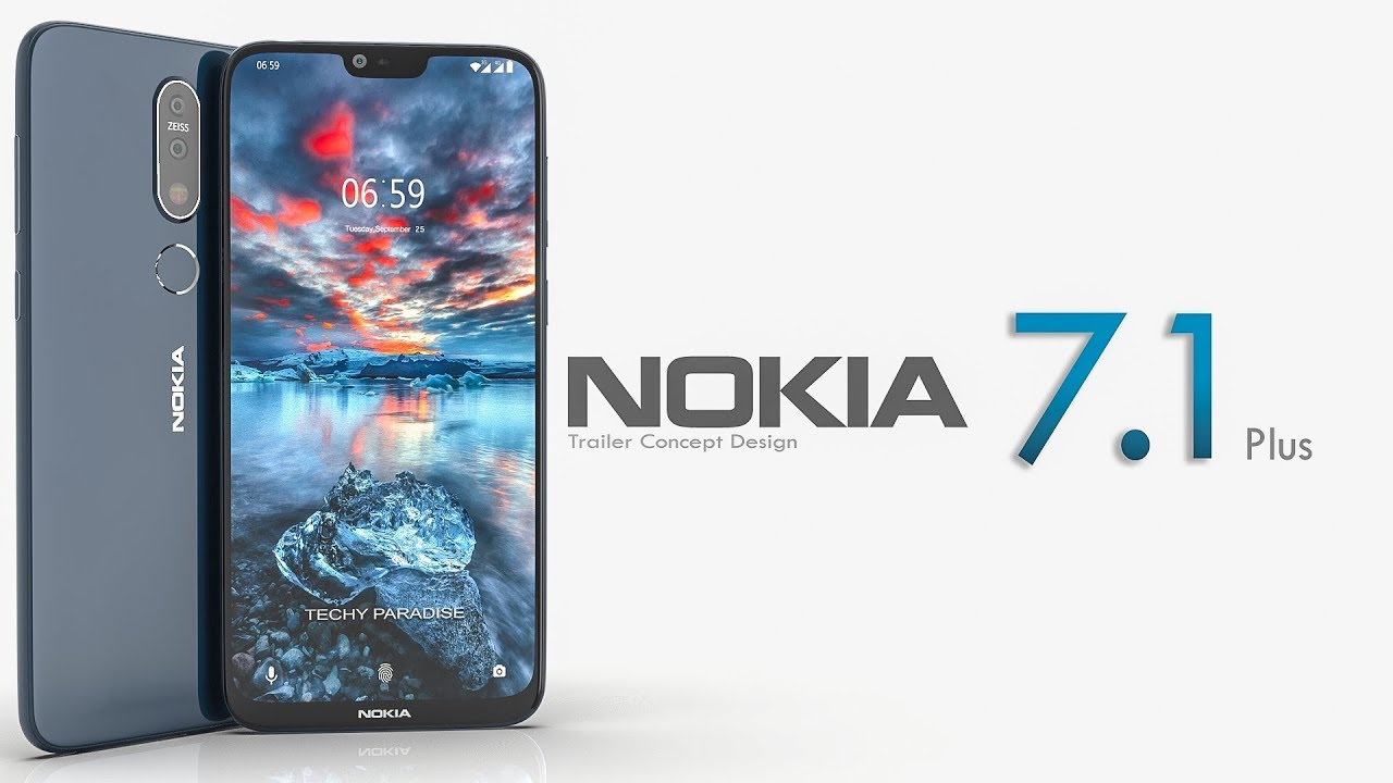 Image result for Nokia 7.1 Plus