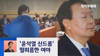 차기 대선주자 선호도 1위…'윤석열 신드롬' 떨떠름한 여야 / JTBC 정치부회의