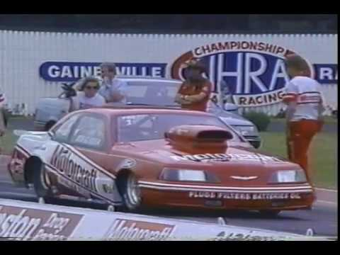 Drag Racing 1987 NHRA Gatornationals PRO STOCK Final