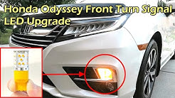 Honda Odyssey Front Turn Signal LED Light Upgrade - 7440 LED Bulb