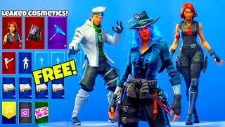 NEW! FREE! SKINS & EMOTE LEAKED..! (Avengers Endgame) Fortnite Battle Royale