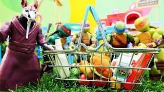 Spielspaß mit den Ninja Turtles. Die Online-Bestellung. Spielzeug Video für Kinder