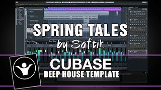 Deep House Cubase Template - Spring Tales by Saftik