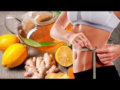 ЧАЙ для ПОХУДЕНИЯ: сок лимона, имбирь, мёд, зелёный чай, мята!
