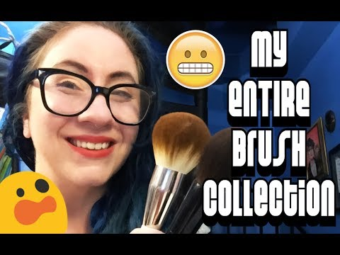My ENTIRE Makeup Brush Collection!! :: It Cosmetics, Chikuhodo, Wayne Goss, Muse Beauty and More!