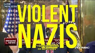 Viral MSNBC Coverage Shows 8 Nazis Running in the Midterms, I Wonder Who Emboldened Them?