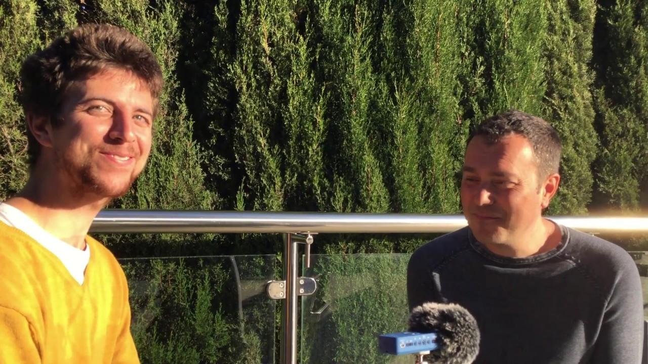 """Entrevista a Sergi Torres con Peter Slow: """"Si la pregunta aparece, mírala"""""""