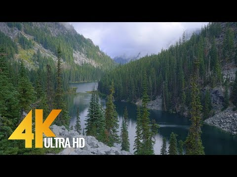4K Nature Documentary Film - Enchantment Lakes Are, Snow Lakes Trail, Central Cascades - 1 HR