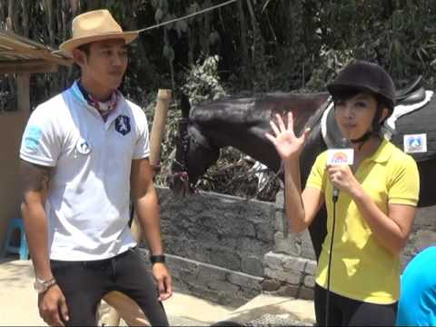 ROUND UP the World Bali TV - UBUD HORSE STABLES (Behind the scene)
