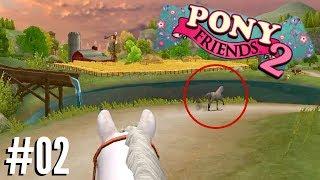 Achter een wild paard aan gaan en crossen!   Pony Friends 2 #2
