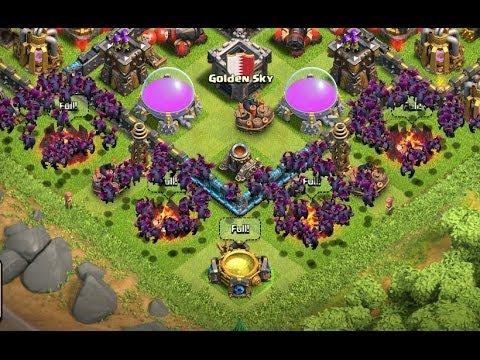 Clash Of Clans - 135 Level 6 Minion Attack Epic WIN! (Daily Fix #27)