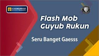 Flashmob Guyub Rukun Kanwil Kemenkumham Daerah Istimewa Yogyakarta
