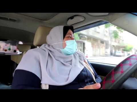 She Is Gaza's First Woman Taxi Driver