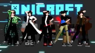 (mmd) opening song anicraft versi mmd