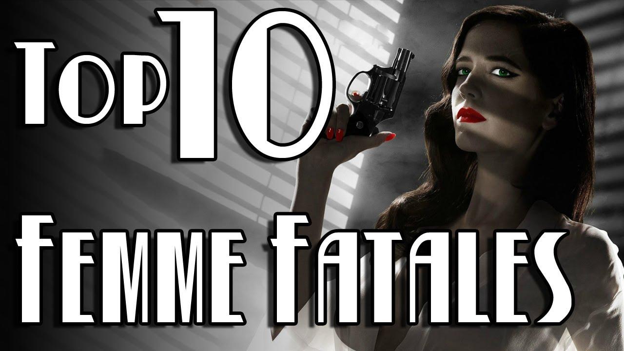 TOP 10 FEMME FATALES de la historia del CINE