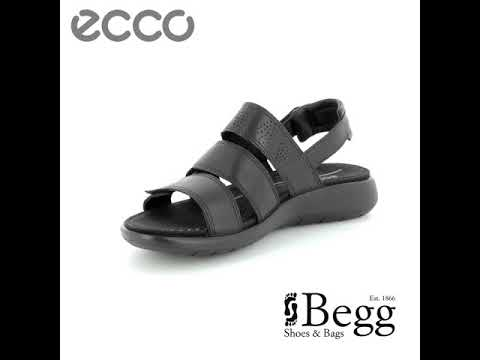 04f5f44162 ECCO Soft 5 Sandal 218523-01001 Black sandals