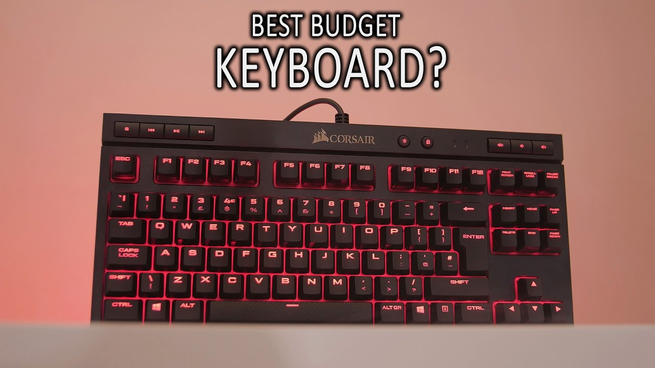 f5d29fe871c $80 Corsair K63 Mechanical Gaming Keyboard Review. - YouTube